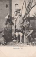 Egypte -  Porteuses D'eau - Scan Recto-verso - Egypte