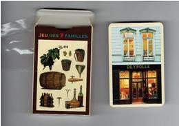 Cartes à Jouer Jeu 7 Familles VIN Bière Tire-bouchon Lampe à Pétrole Carotte HUILE D'OLIVE Olivier Arbre Tonneau Houblon - Carte Da Gioco