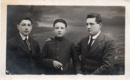 ITALIA-SCONOSCIUTI-CIVITAVECCHIA -  FOTO14/10CM-ANNI 1916 - Fotografia