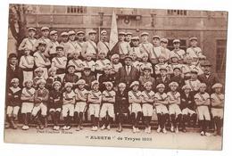 CPA Rare 'Alerte' De Troyes 1925 Etat Voir Scan - Troyes