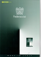 ITALIA 2010 - FOLDER  FEDERACCIAI  -  SENZA SPESE POSTALI - 6. 1946-.. Republic