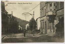 ALGRANGE - Rue Du Maréchal Foch - Coiffeur - 1921- Animation - France