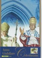 ITALIA 2010 - FOLDER  ANNO GIUBILARE CELESTINIANO  -  SENZA SPESE POSTALI - 6. 1946-.. Republic