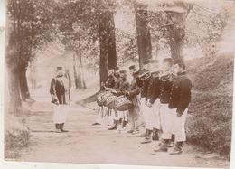 Grimbergen - 1897 - Foto 8 X 11 Cm - Guerre, Militaire