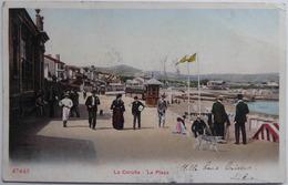 La Corunä - La Playa - CPA 1908 - La Coruña