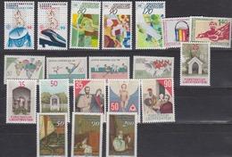 Liechtenstein 1988 Year (see Scan) ** Mnh (43905) - Liechtenstein