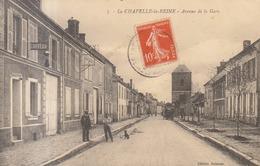 77 /  La Chapelle La Reine : Avenue De La Gare      ///   REF  JUILLET .19  //   BO.77 - La Chapelle La Reine
