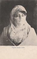 Egypte - Femme Turque Voilée - Scan Recto-verso - Egypte