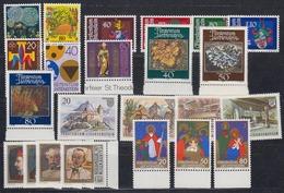 Liechtenstein 1981 Year (see Scan) ** Mnh (43906) - Liechtenstein