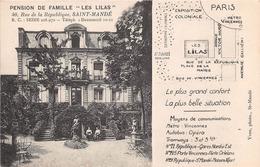 """SAINT MANDE - Pension De Famille """"Les Lilas"""" - Saint Mande"""
