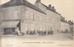 77 /  La Chapelle La Reine  :  Rue De Nemours         ///   REF  JUILLET .19  //   BO.77 - La Chapelle La Reine