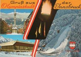 GRUSS AUS-OLYMPIASTADT DER INNSBRUCK-1983 - Saluti Da.../ Gruss Aus...