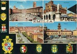 EMILIA - BOLOGNA - PIACENZA - MODENA - PARMA - Vedute - Italia