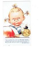 Cpa - D.TEMPEST Illustration - Fillette Réveil JAZ - N° K 548 - Illustratori & Fotografie