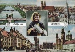 GRUSS AUS MUNCHEN-1961 - Saluti Da.../ Gruss Aus...