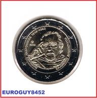 GRIEKENLAND - 2 € COM. 2019 UNC - 100e VERJAARDAG GEBOORTE MANOLIS ANDRONIKOS - Greece