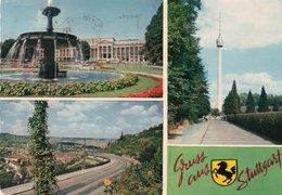 GRUSS AUS STUTTGART-1965 - Saluti Da.../ Gruss Aus...