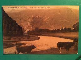 CPA, Vianden, Grand Duché Du Luxembourg, Vue Prise Du Côté De Roth, Animée,écrite, (1909 Ou 1912),timbre - Vianden
