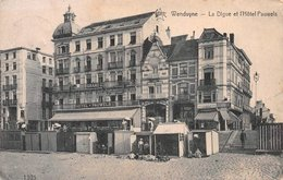 La Digue Et L'Hôtel Pauwels STAR Wenduine - Wenduine