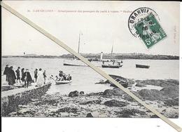 Chausey - Debarquement Passagers Du Vapeur Ondine   - Circulé - Autres Communes