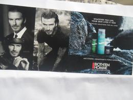 Biotherm David Beckham - Advertisings (gazettes)