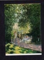 """Art / Peinture,tableau  / Claude Monet """"  Parisiens Au Parc Monceau """" - Pintura & Cuadros"""