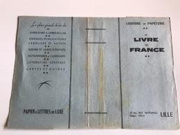 Protege Livre - Libraire Papeterie LE LIVRE DE FRANCE - LILLE - Vloeipapier