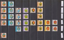 2017-2019 Ukraine 9th Definitive Used Stamps With Different Microtext - Ukraine