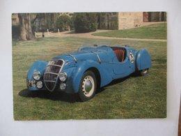PEUGEOT DARL' MAT 1937 TYPE 24 HEURES DU MANS MUSEE AUTOMOBILE DE L'ABBATIALE LE BEC-HELLOUIN 27800 BRIONNE - Passenger Cars