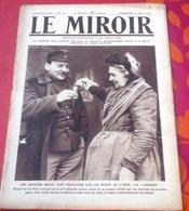 WW1 Le Miroir N°72 11 Avril 1915 La Joconde De L'Yser,Sportifs Au Front Garrigou Octave Lapize Odile Defraye Albert Luri - Boeken, Tijdschriften, Stripverhalen