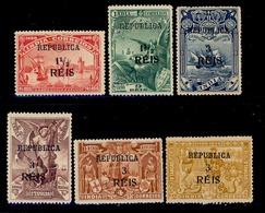 ! ! Portuguese India - 1914 Vasco Gama W/OVP (Complete Set) - Af. 305 To 310 - MH - Portuguese India