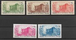 Cote Française Des Somalis 1939  N° 172 à 176  N * - Nuevos