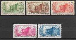 Cote Française Des Somalis 1939  N° 172 à 176  N * - Ongebruikt