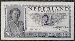 Netherlands 2 1/2 Gulden 1949 - [2] 1815-… : Koninkrijk Der Verenigde Nederlanden