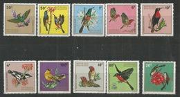 RWANDA - MNH - Animals - Birds - 1972 - Birds