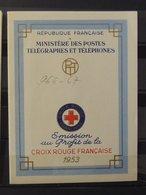 Carnet Croix Rouge De 1953 ** - MNH - Superbe - Cote : 160 Euros - Croix Rouge