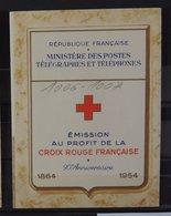 Carnet Croix Rouge De 1954 ** - MNH - Superbe - Cote : 180 Euros - Croix Rouge