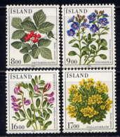 ISLANDE - 581/584** - FLEURS - Ungebraucht