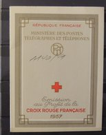 Carnet Croix Rouge De 1957 ** - MNH - Superbe - Cote : 90 Euros - Red Cross