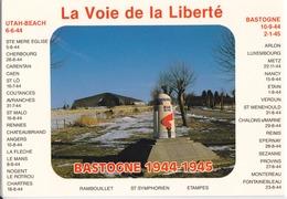 BASTOGNE - DERNIERE BORNE DE LA VOIE DE LA LIBERTE - Bastogne