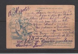 Carte Correspondance Des Armées De La République  Voir 2 Em Scan - Weltkrieg 1914-18