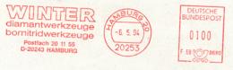 Freistempel 7075 Winter Diamantwerkezuge  Bornitridwerkzeuge - Marcophilie - EMA (Empreintes Machines)