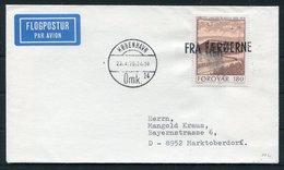 1979 Faroe Islands / Denmark FRA FAEROERNE Cover - Copenhagen. Slania - Faroe Islands