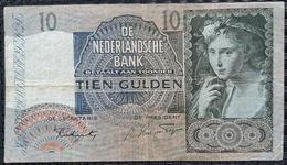 Netherlands 10 Gulden  24 November 1941 - [2] 1815-…: Königreich Der Niederlande