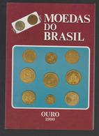 Catalogue Coins Of Brazil Gold  Moedas Do Brasil Ouro 1990 Jose Vinicius - Literatur & Software