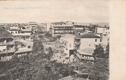 Egypte - Port  Saïd  - Rue De Lesseps à Port Saïd - Scan Recto-verso - Port-Saïd