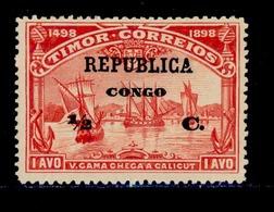 ! ! Congo - 1913 Vasco Gama On Timor 1/2 C - Af. 92 - MH - Congo Portugais