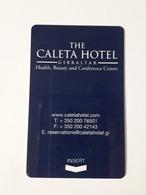 HOTEL KEY CARD - (  THE GALETA HOTEL  )  GIBRALTAR - Hotelsleutels (kaarten)