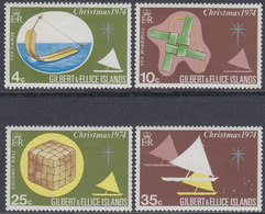 Gilbert & Ellice Islands 1974 - Christmas: Toys - Mi 225-228 ** MNH - Îles Gilbert Et Ellice (...-1979)
