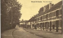 RHODE ST GENèSE Rue De La Station - Rhode-St-Genèse - St-Genesius-Rode